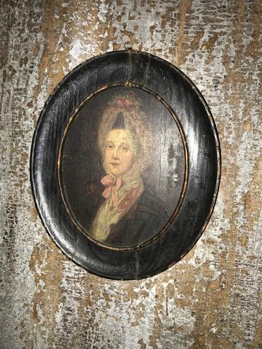 A portrait of the Duchess of Hamilton