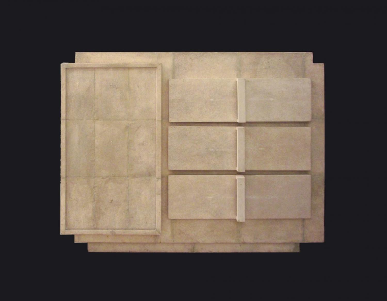 Art Deco Style Shagreen Cabinet