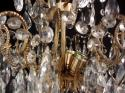 An unusual faceted glass ceiling light - picture 4