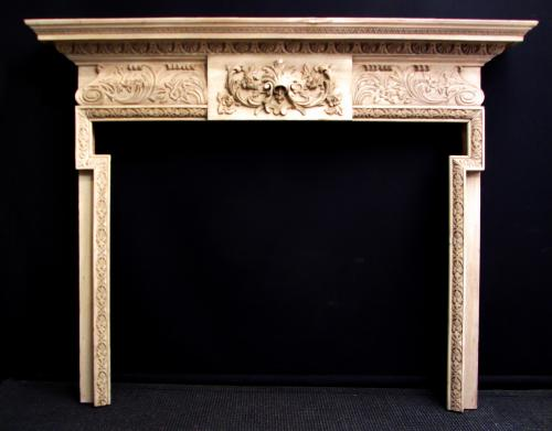 A late 19th Century fire surround