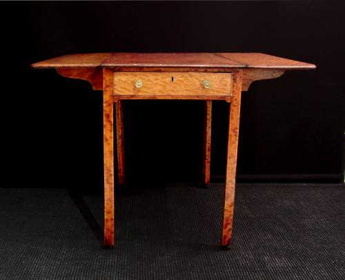 A satinwood pembroke table