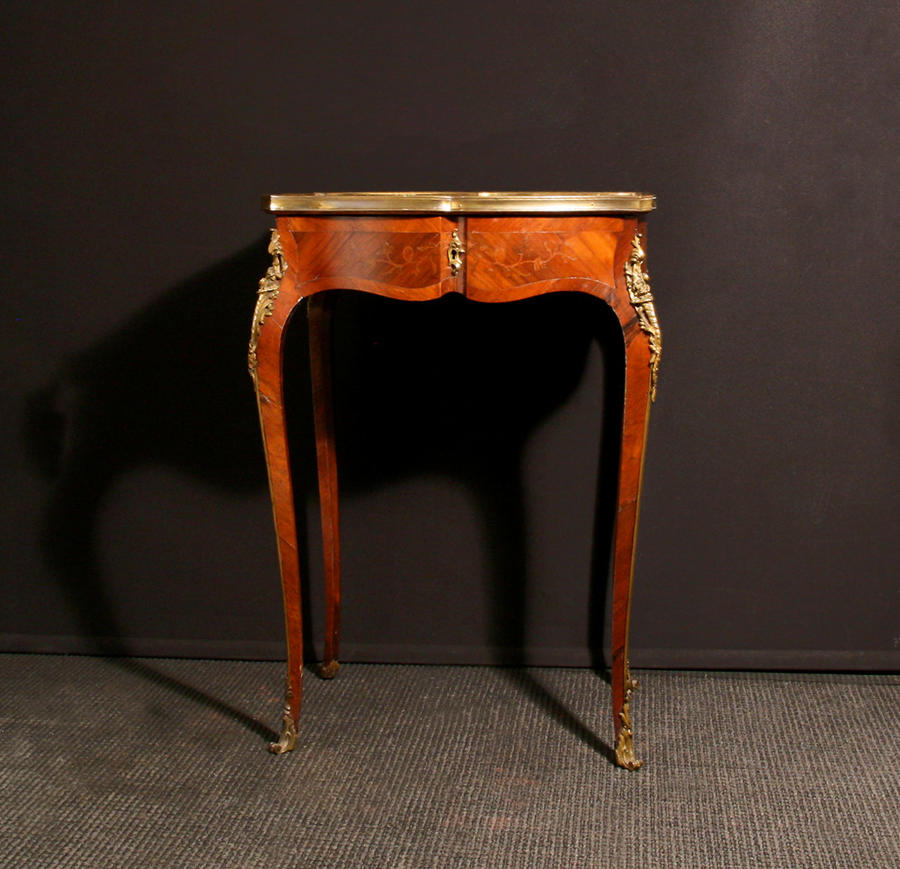 A Louis XV revival table