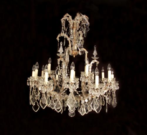 A Marie Therese style chandelier