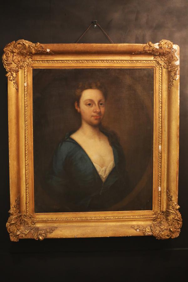 Provincial Follower of Sir Godfrey Kneller (British, 1646-1723) Portra