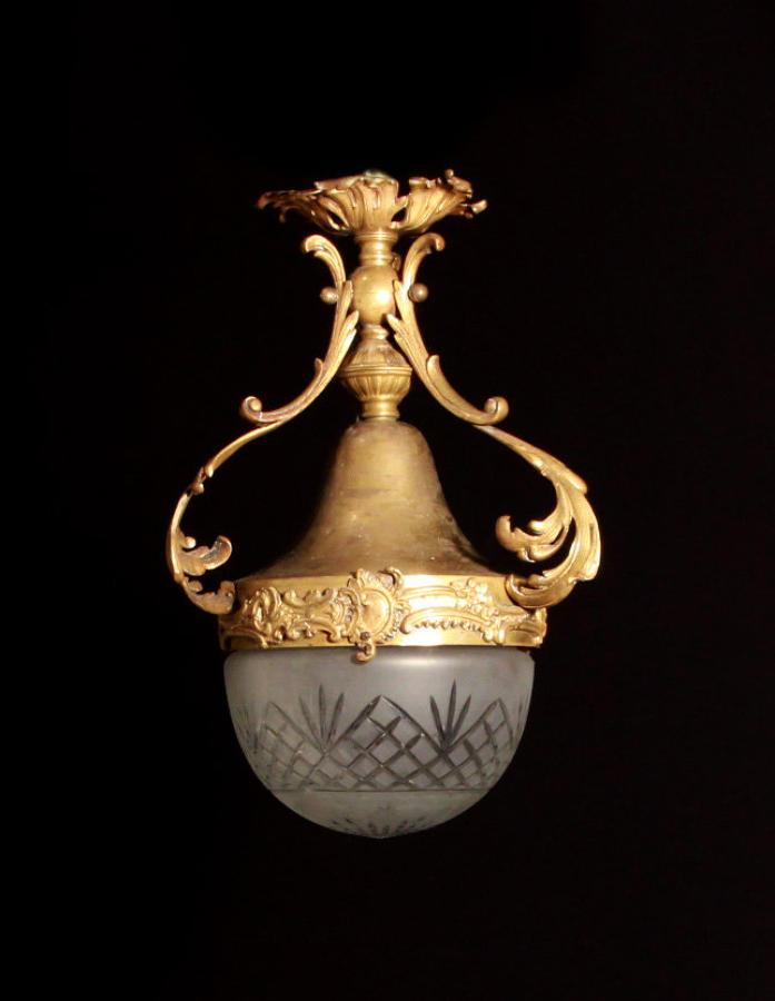 A small Rococo lantern