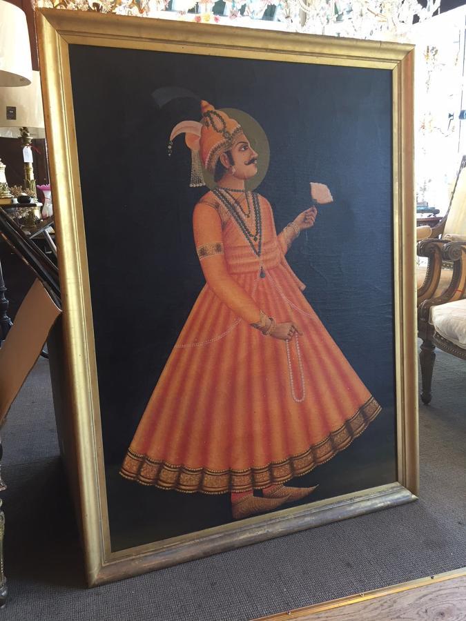 Oil Painting of a Mahārāja
