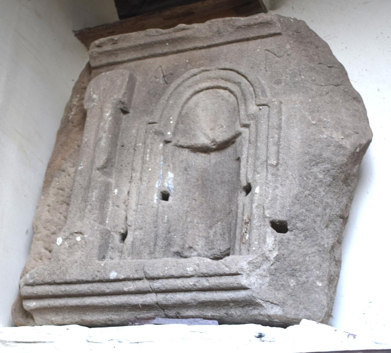 A Roman over door shrine