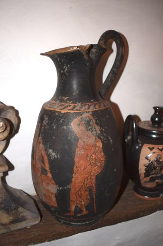 An Etruscan Roman figure Vase