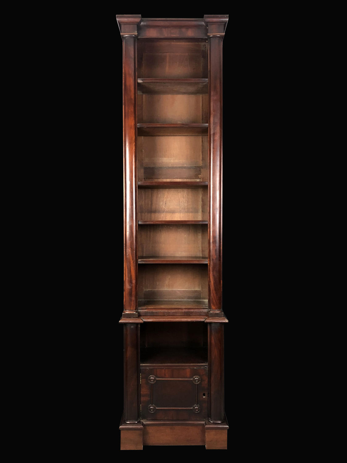 A William IV Mahogany book case