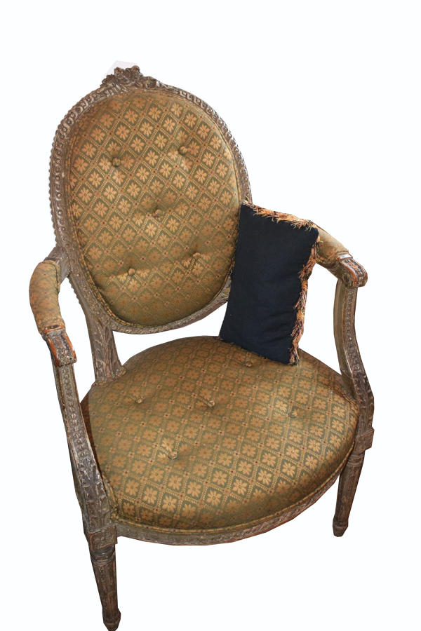 A French Louis Philippe desk chair