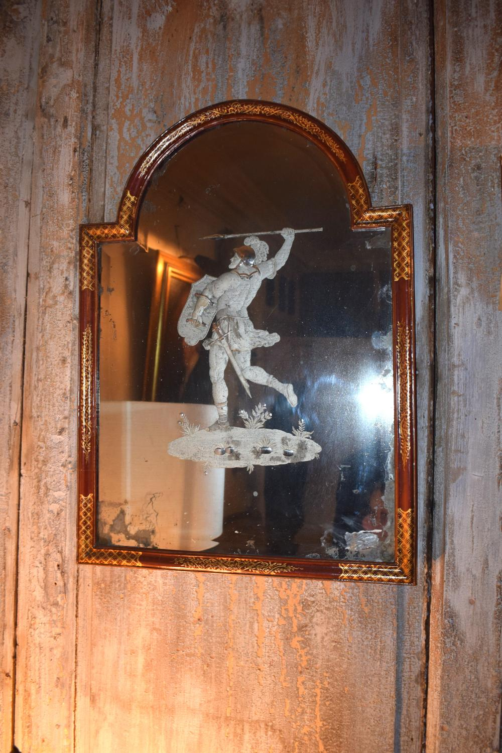 An extermley high quality Genoese mirror
