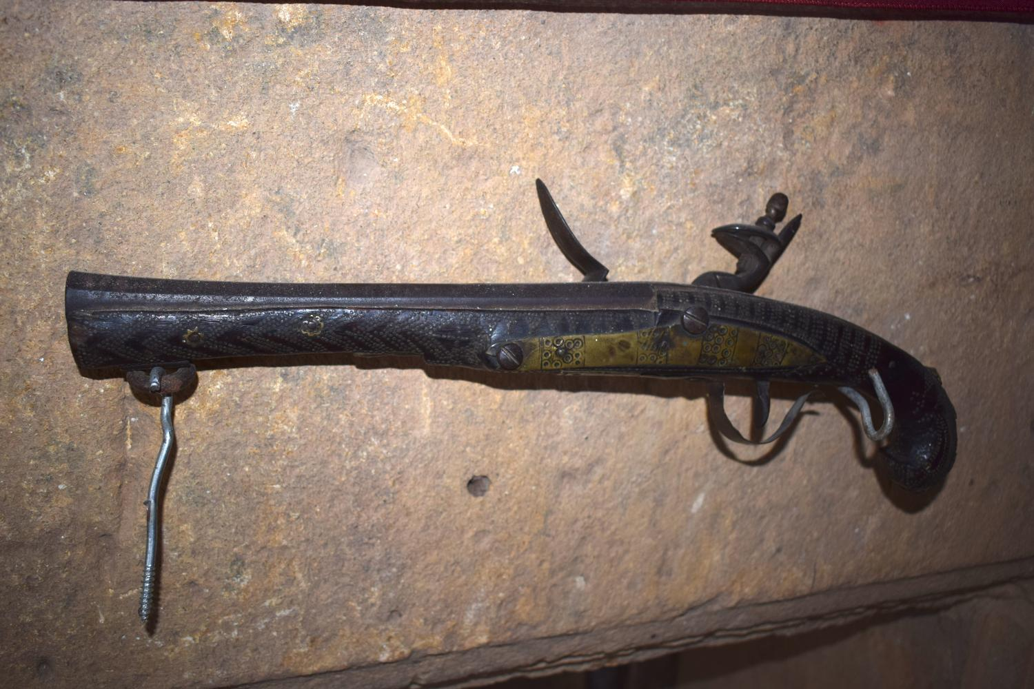 A Turkish flintlock pistol