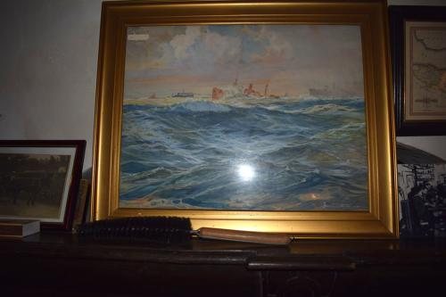 An early 20th century marine watercolour
