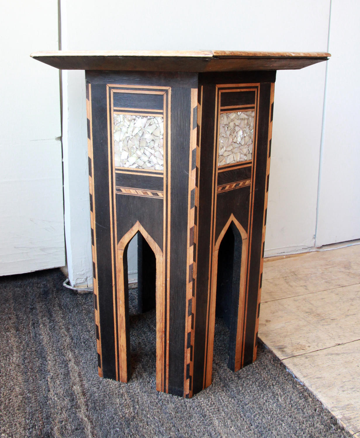 A Small Hexagonal Turkish Table