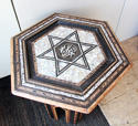 A Small Hexagonal Turkish Table - picture 2