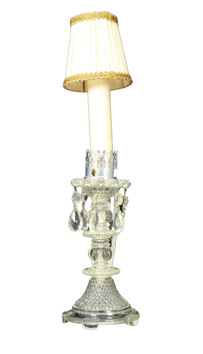 A Baccarat Style Candlestick