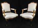 A Pair of Louis XV Style Arm Chairs - picture 1