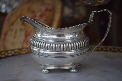 A Solid Silver Jug