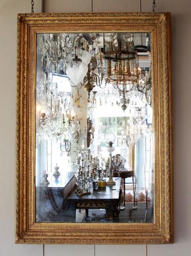 A 19th Century Gesso Mirror