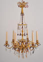 A 'Retour Egypte' Six Branch Ormolu Chandelier - picture 8