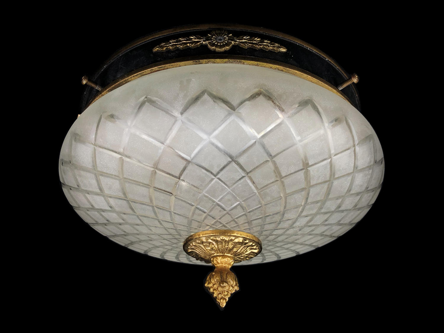 An Empire revival style ceiling light