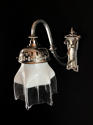 An Edwardian Silvered Wall Light - picture 1