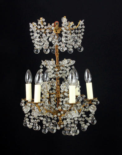 A small 17th century style chandelier