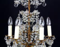 A small 17th century style chandelier - picture 3