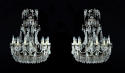 A pair of Italian chandeliers - picture 1