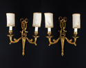 A pair of Louis XVI style wall lights - picture 1