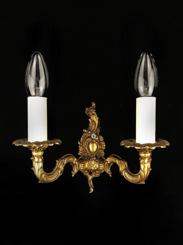 A Rocco style wall light