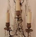 A pair of French, silvered wall lights - picture 3