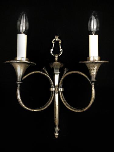A single hunting trophy wall light
