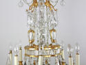 A Superb Baccarat/Bagues Chandelier - picture 7
