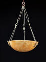 An alabaster hanging light - picture 1