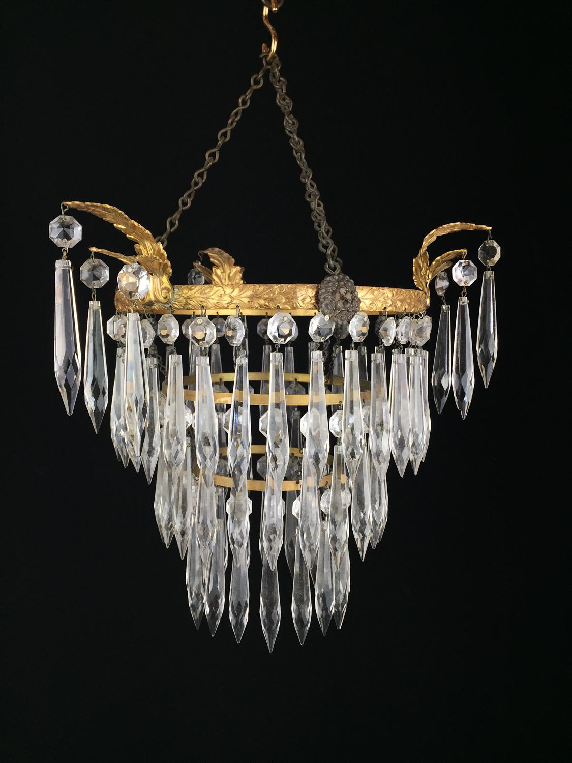 A charming ceiling light