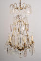 A Louis XV style cage chandelier - picture 5