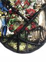 Armorial Oval Stained Glass Window - picture 7
