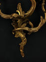 A pair of three arm Louis XV style wall lights - picture 5