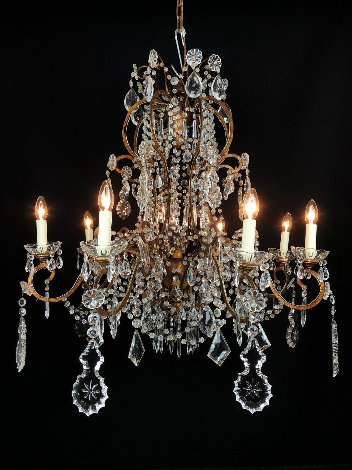 An unusual Italian Chandelier