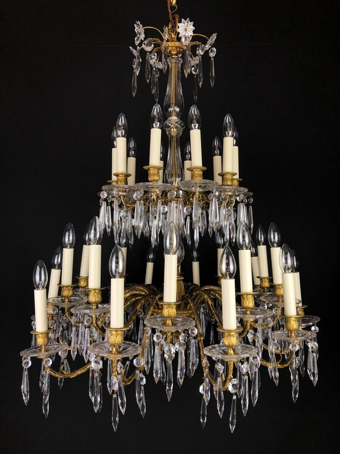 A Large Empire Chandelier