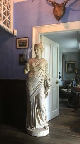 A plaster statue of Isis