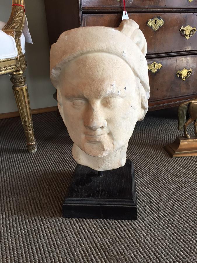 A Roman head