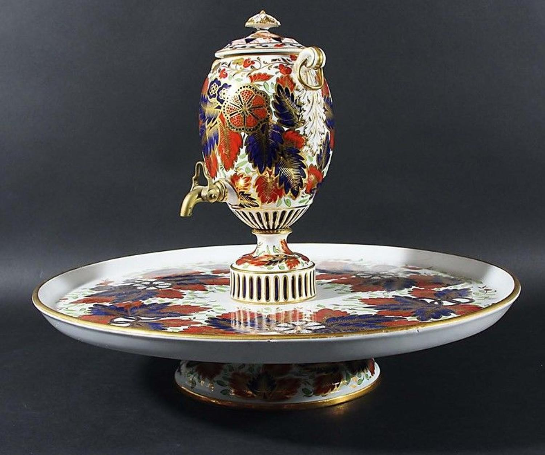 A Copeland Imari Samovar Tea Urn