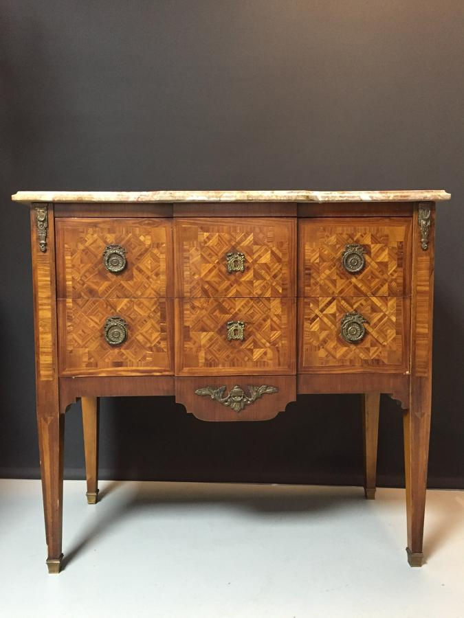 A Louis Philippe fruit-wood Commode