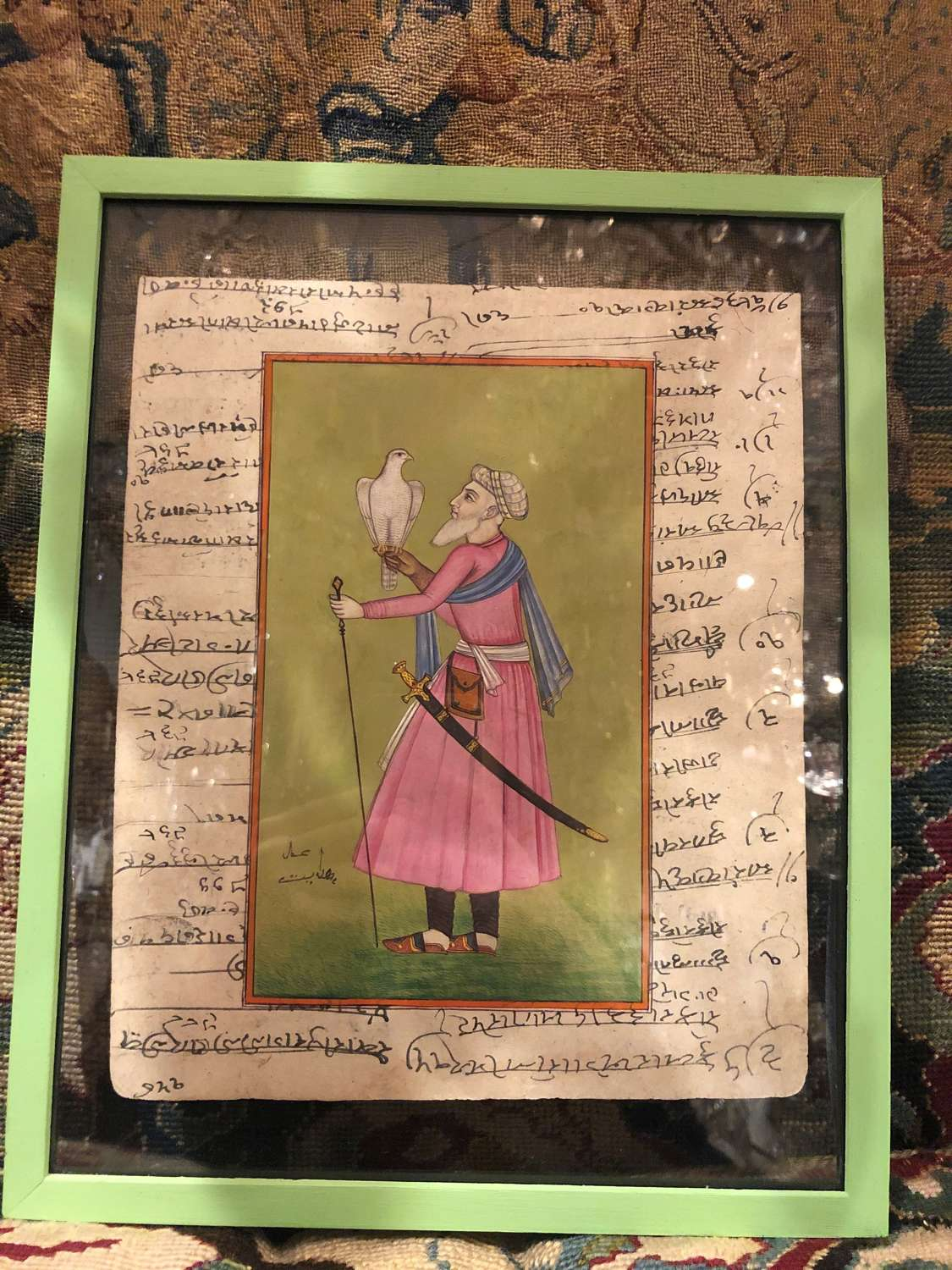 Mughal Hand Painted Watercolours