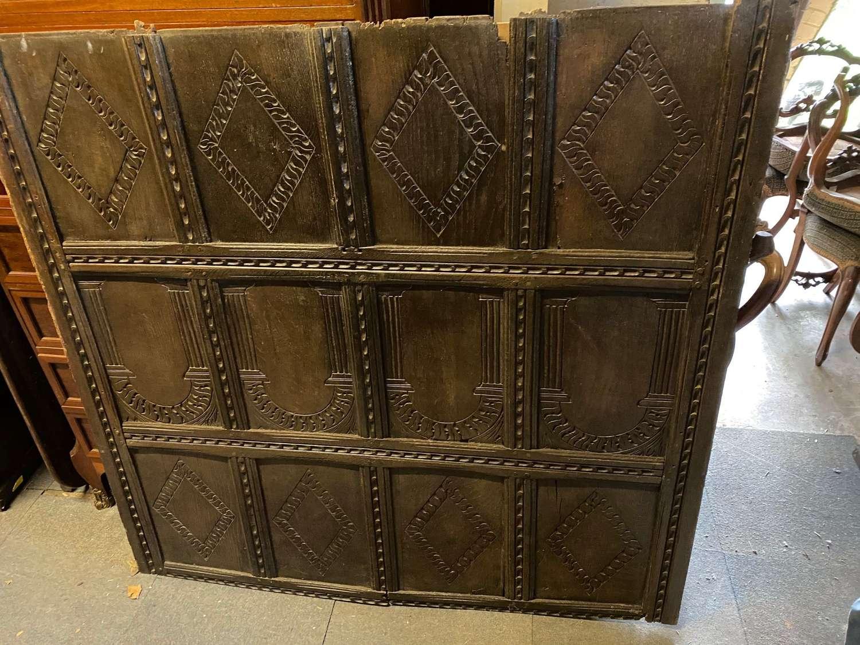 A 17th century Oak panel