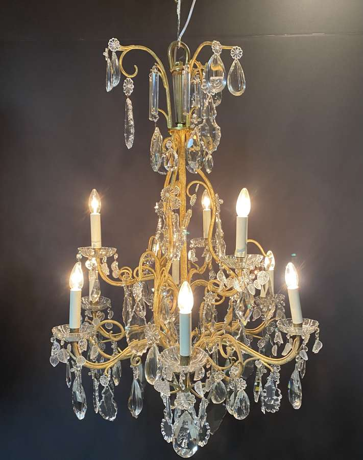 A napoleon the third solid bronze chandelier Imitating National wood
