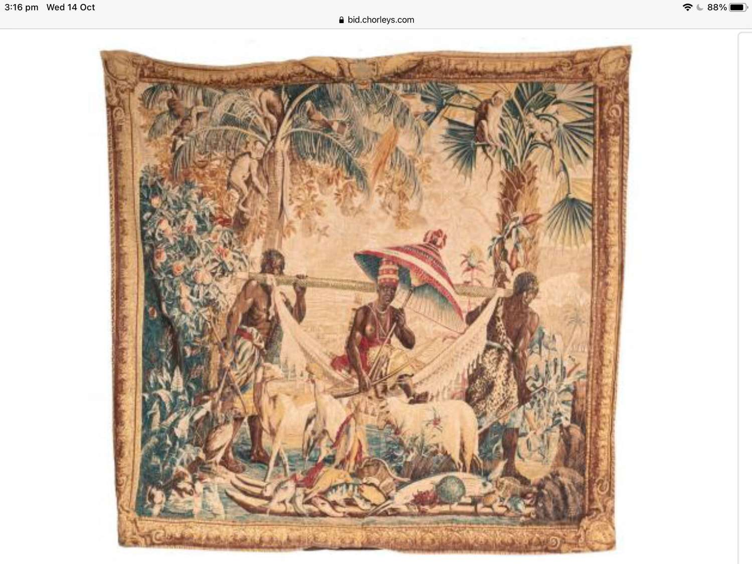 A Gobelins style tapestry