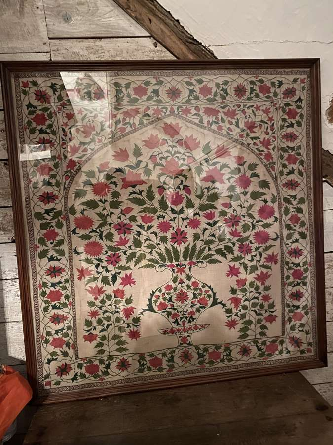 18 Century Indian embroidery silicone cotton